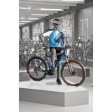 Etalagepop-Mannequin- Biker - Rijwiel Houding